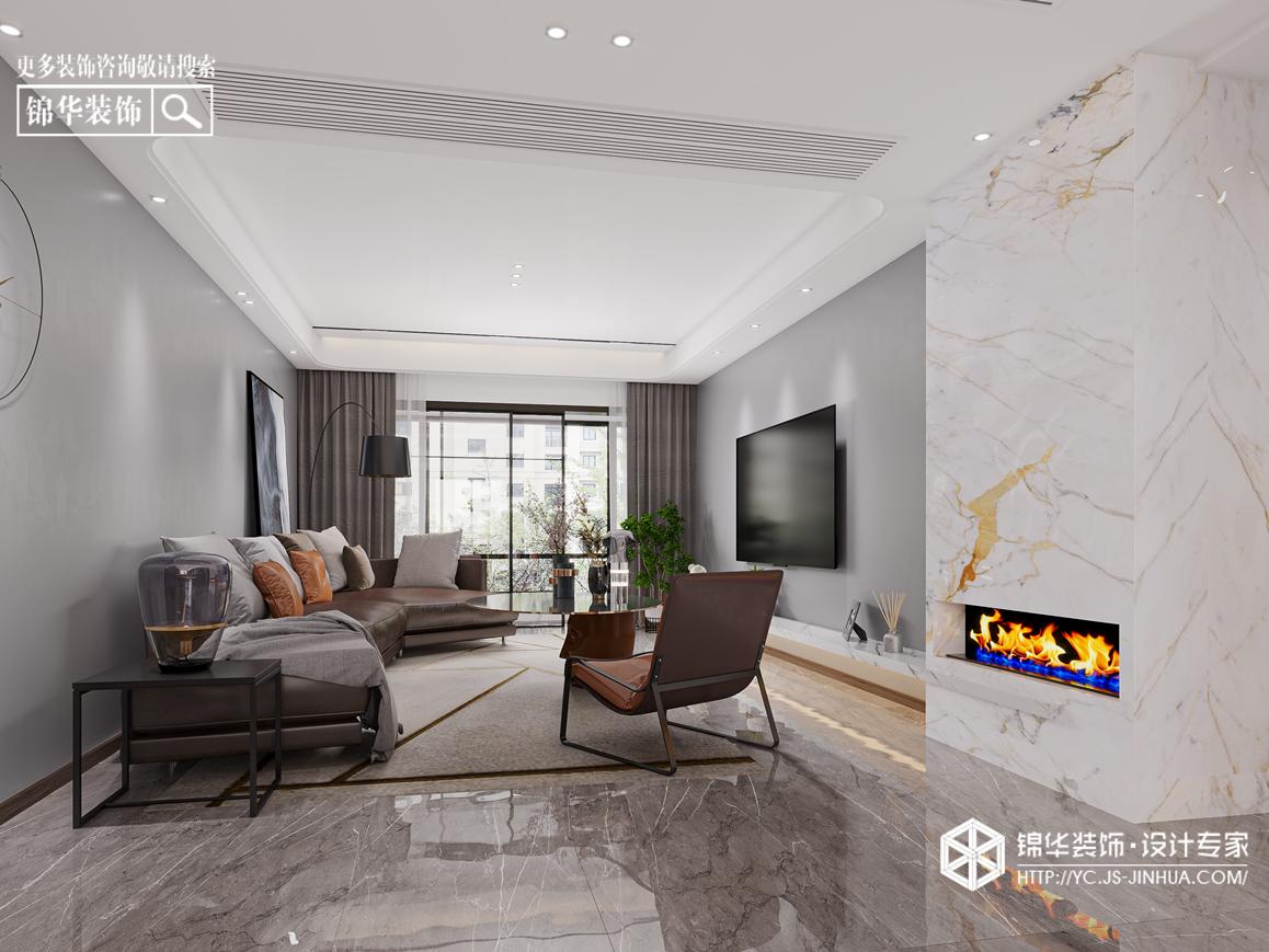 现代极简-香苑东园-三室两厅-147㎡装修实景效果图装修-三室两厅-极简