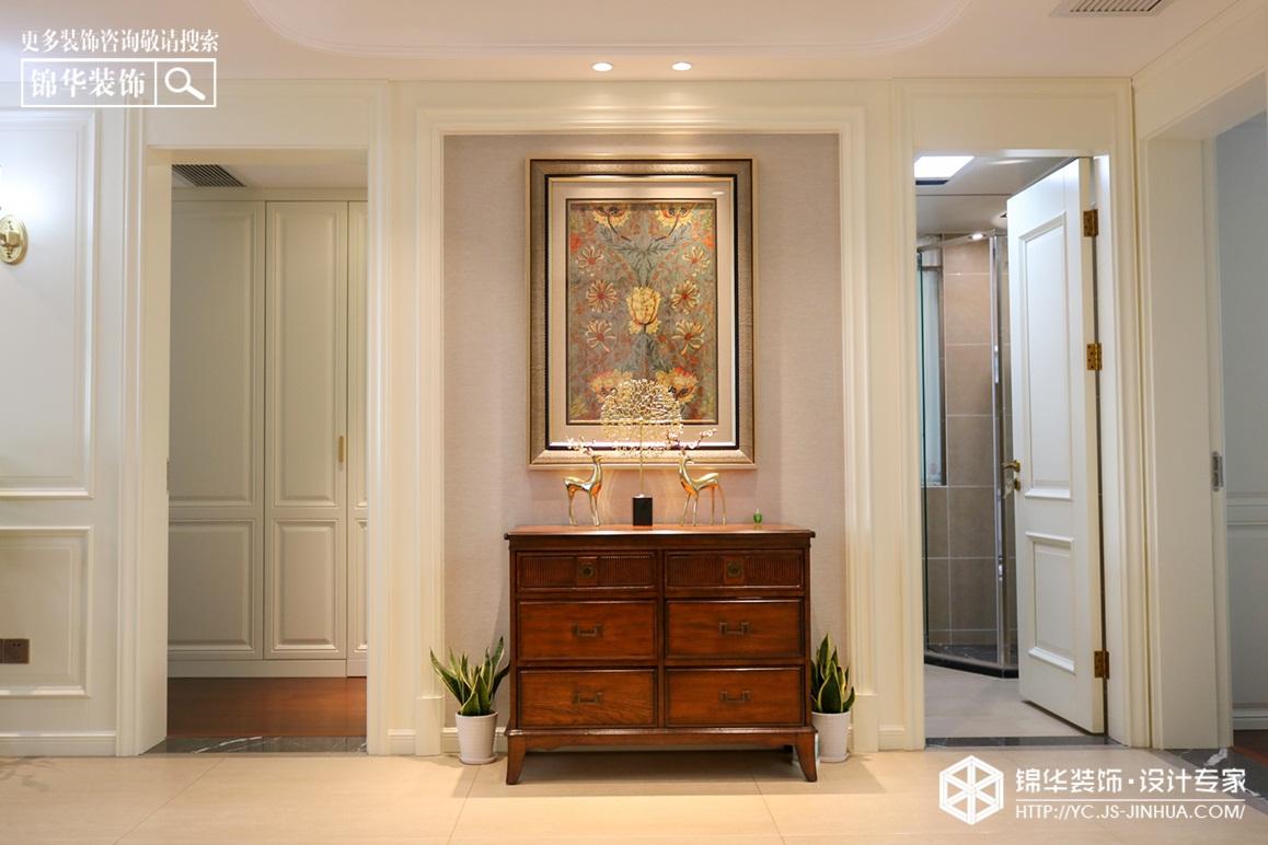 美式风格-日月星城-三室两厅-120㎡装修实景效果图装修-三室两厅-简美