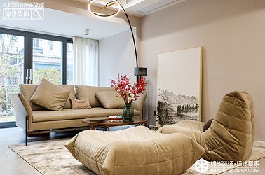 现代极简-碧桂园珑悦-四室两厅-260㎡装修实景效果图