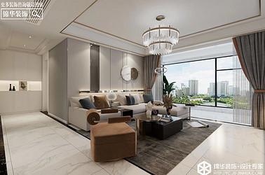 现代轻奢-碧桂园天玺-四室两厅-178㎡装修实景效果图