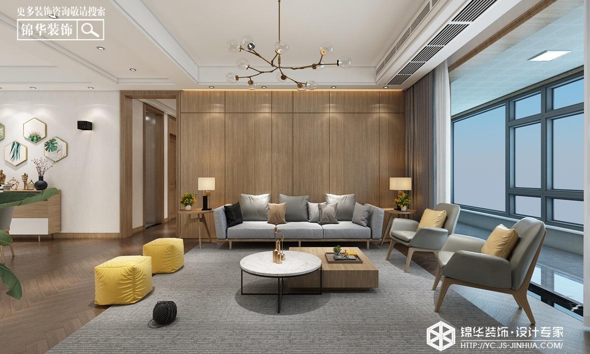 现代轻奢-碧桂园天玺-四室两厅-146㎡装修实景效果图
