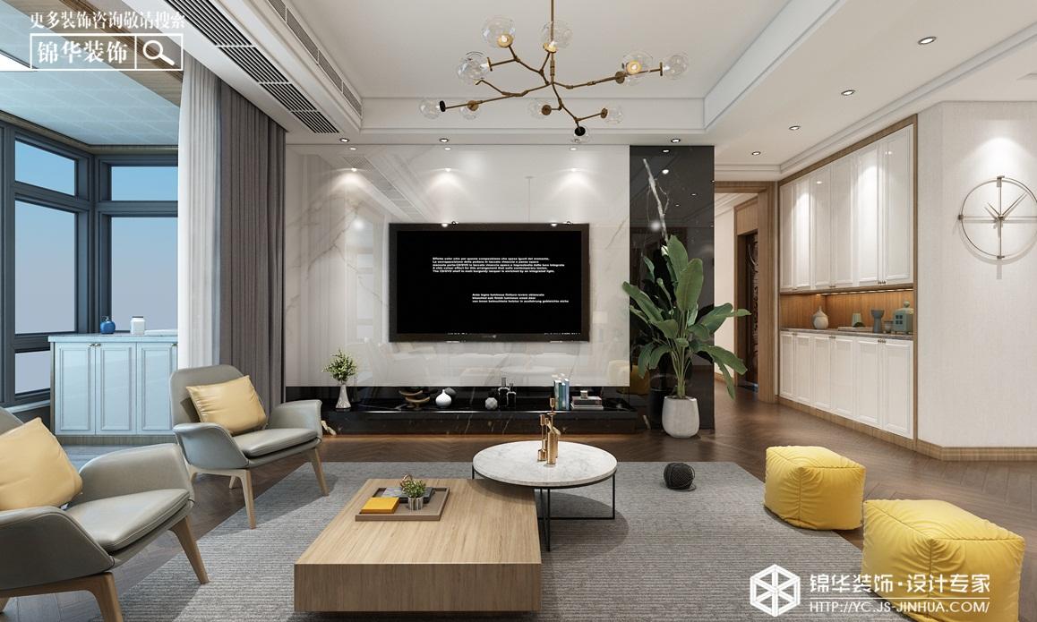 现代轻奢-碧桂园天玺-四室两厅-146㎡装修实景效果图装修-四室两厅-轻奢