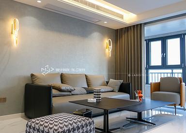现代简约-碧桂园珺越府-三室两厅-107㎡装修实景效果图