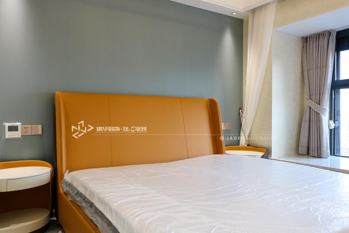 现代简约-碧桂园珺越府-三室两厅-107㎡装修实景效果图装修-三室两厅-现代简约