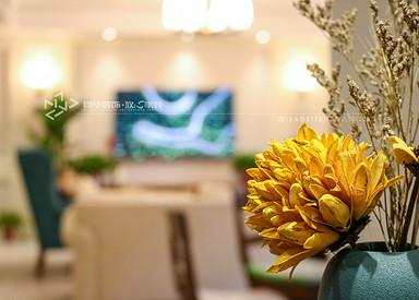 美式风格-龙泊湾-四室两厅-175㎡装修实景效果图