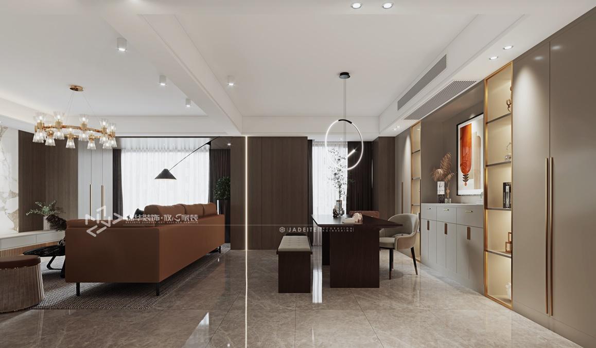 现代轻奢-阳光御园-四室两厅-200㎡装修实景效果图装修-跃层复式-轻奢