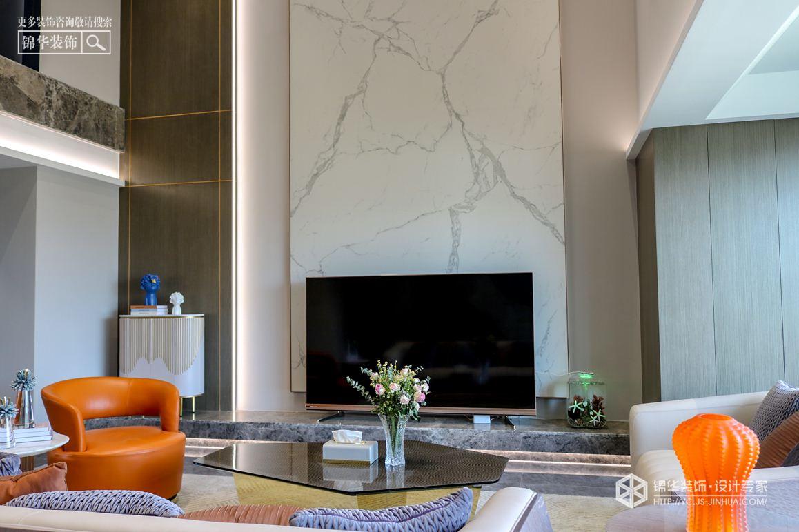 现代轻奢-中海万锦园-四室两厅-170㎡装修实景效果图装修-四室两厅-轻奢
