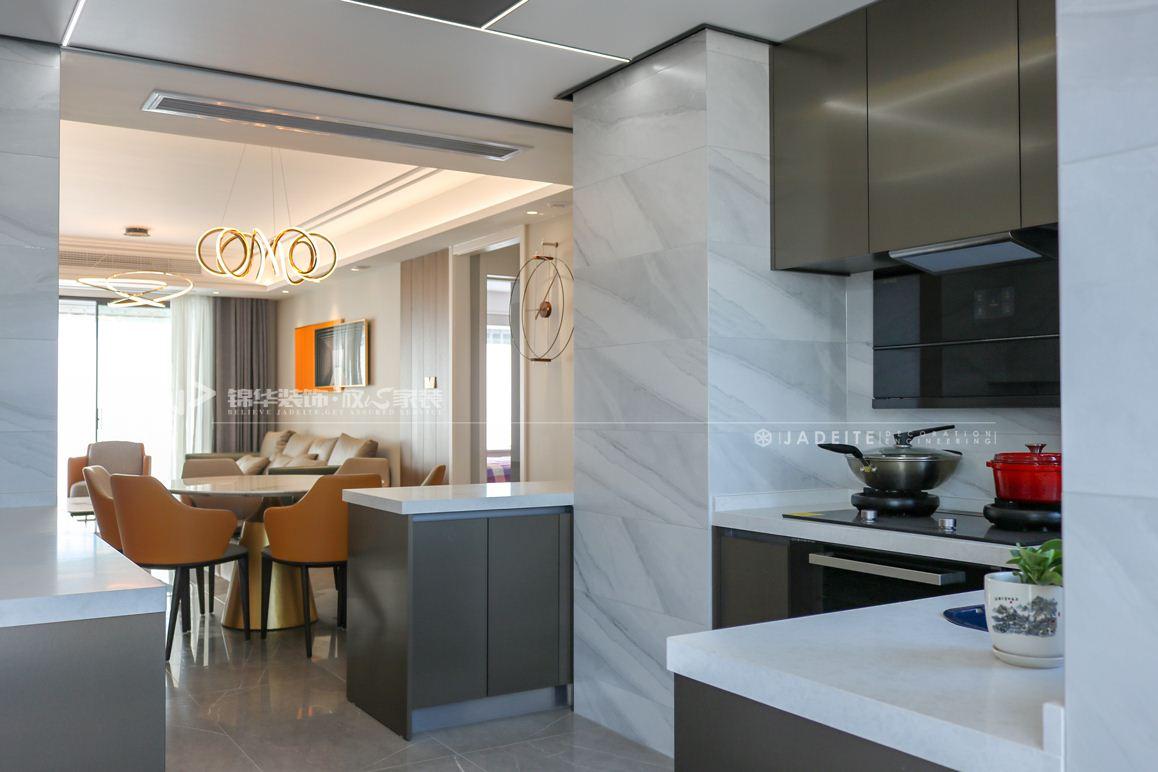 现代风格-龙泊湾-三室两厅-144㎡装修实景效果图装修-三室两厅-现代简约