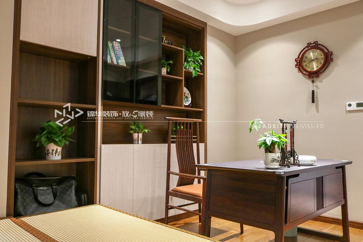 新中式-碧桂园天境-三室两厅-190㎡装修实景效果图装修-三室两厅-新中式