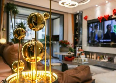 现代风格-保利紫荆公馆-三室两厅-152㎡装修实景效果图