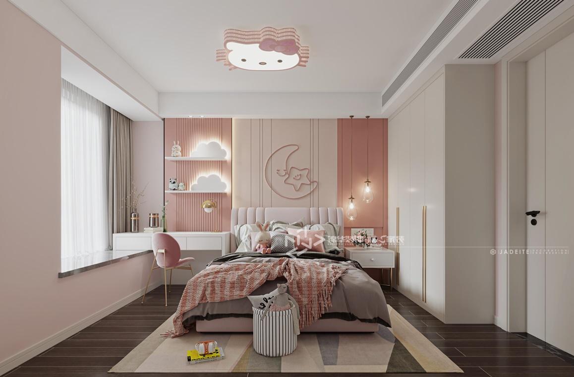 现代简约-京师学院山-三室两厅-120㎡装修实景效果图装修-三室两厅-现代简约