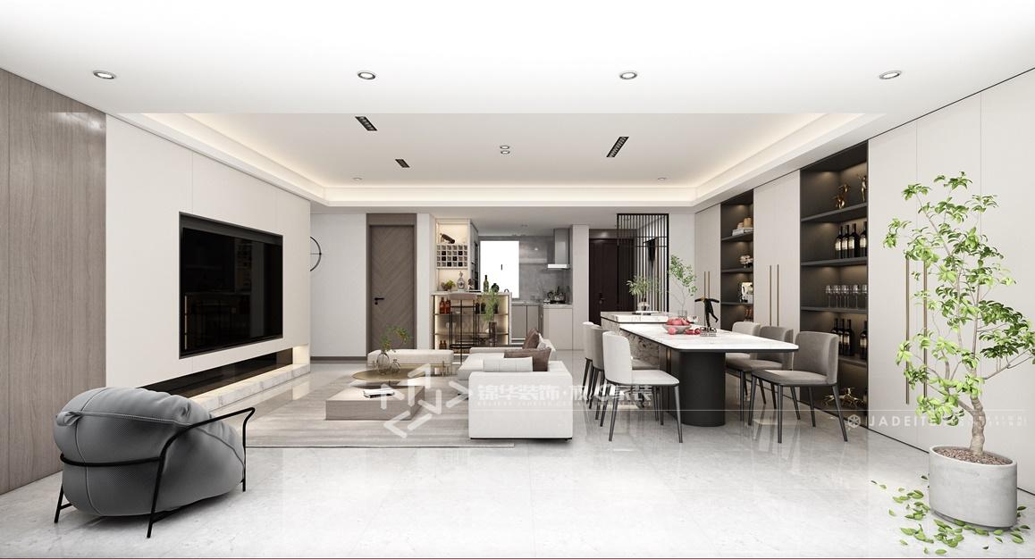 现代风格-万锦南园-四室两厅-135㎡装修实景效果图
