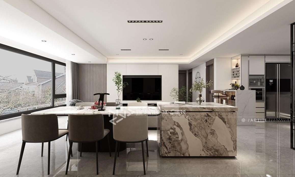 现代风格-万锦南园-四室两厅-135㎡装修实景效果图装修-四室两厅-现代简约