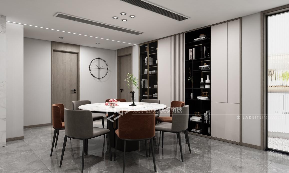 现代轻奢风格-八菱花园-五室两厅-260㎡装修实景效果图装修-大户型-轻奢