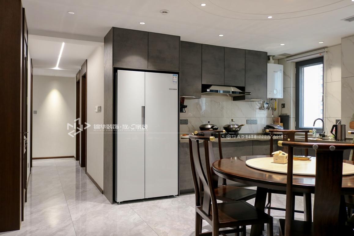 新中式风格-中海万锦园-四室两厅-180㎡装修实景效果图装修-跃层复式-新中式