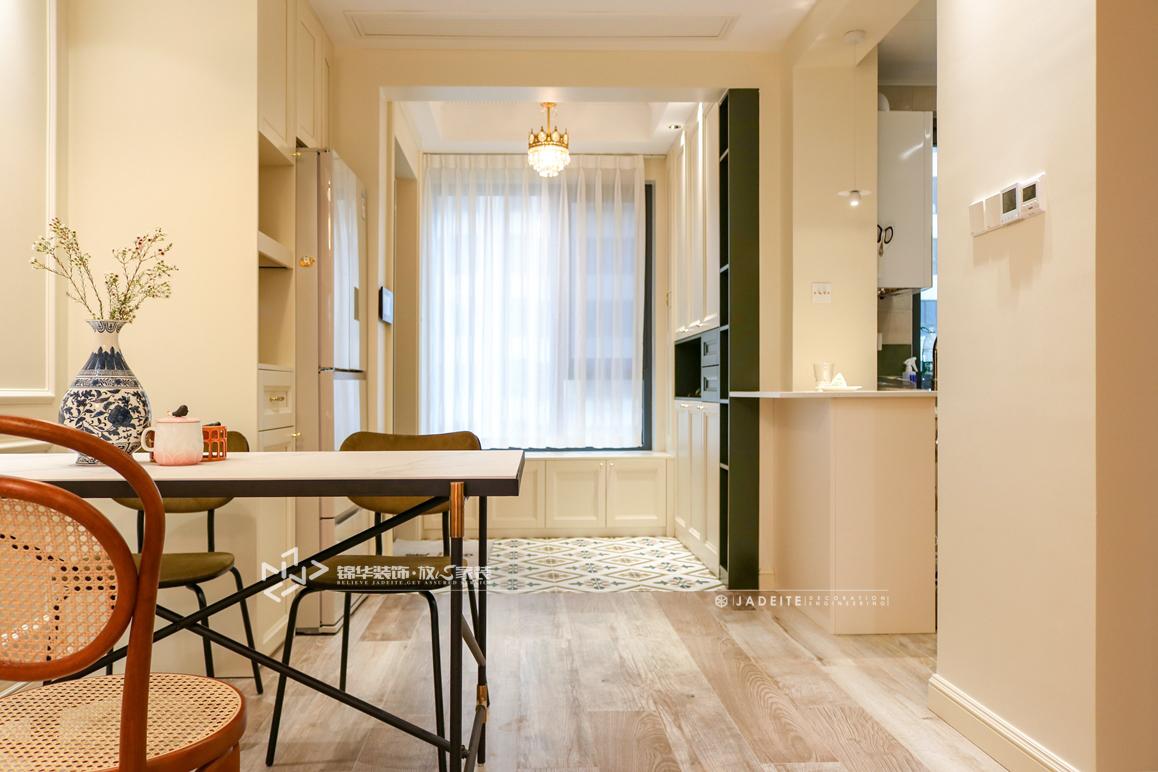 美式风格-中南世纪城十期-三室两厅-130㎡装修实景效果图装修-三室两厅-简美