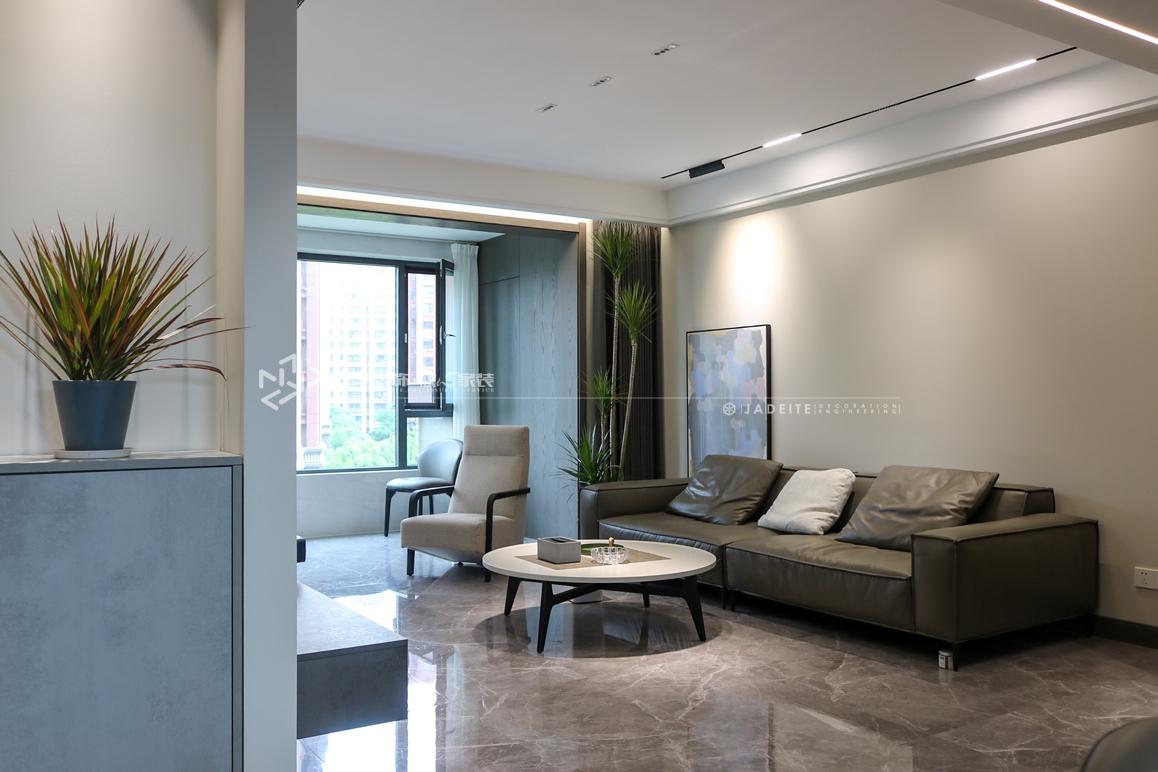 现代简约奢-悦珑湾-四室两厅-132㎡装修实景效果图
