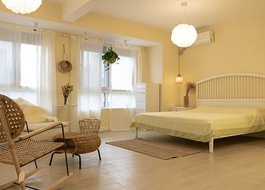 北欧-望府景园-三室两厅-100㎡装修实景效果图
