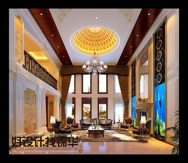 奢华风尚装修-别墅图片大全-欧式古典风格