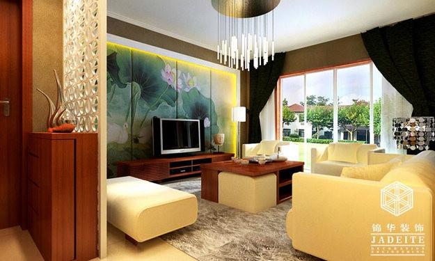 藏式风格房屋客厅装修
