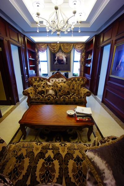 工作室设计装修-大户型-欧式古典-扬州锦华装饰