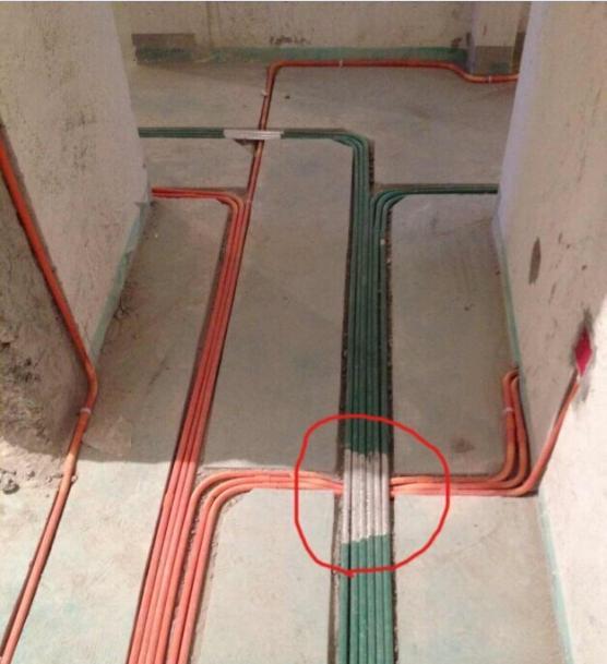 布排管线避让工艺
