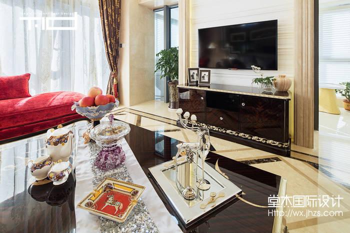 西水东330平装饰艺术风格实景样板间
