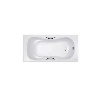 1.5米无裙铸铁浴缸(带扶手)