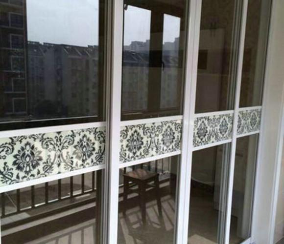 白玻欧式花—厨房门