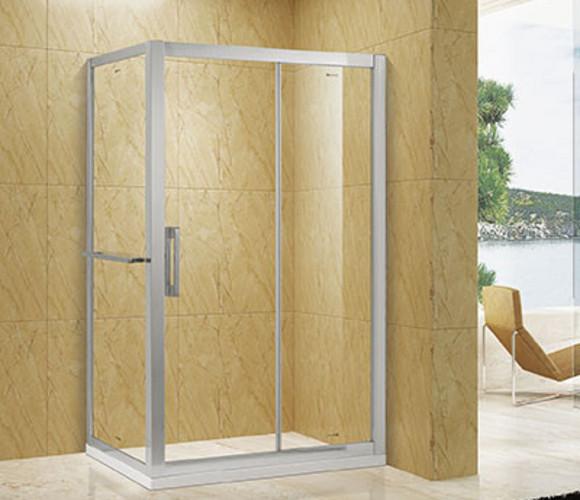 厚重系列-方形推拉淋浴房
