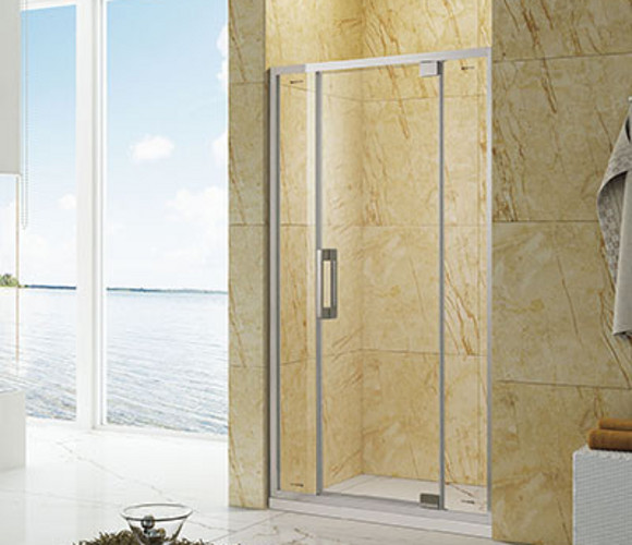固系列-一字型不锈钢淋浴房