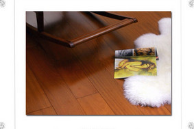 泛美地热原木地板孪叶苏木