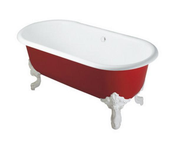 科勒格莱独立式铸铁浴缸