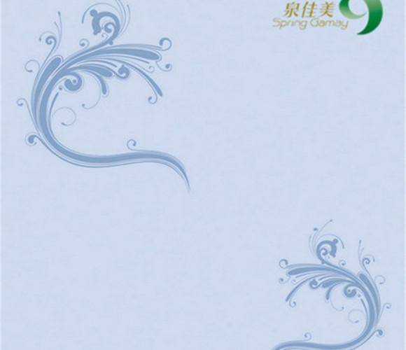 海贝泥平面印花一-硅藻泥III类