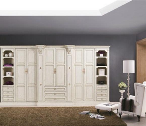 纯原木衣柜