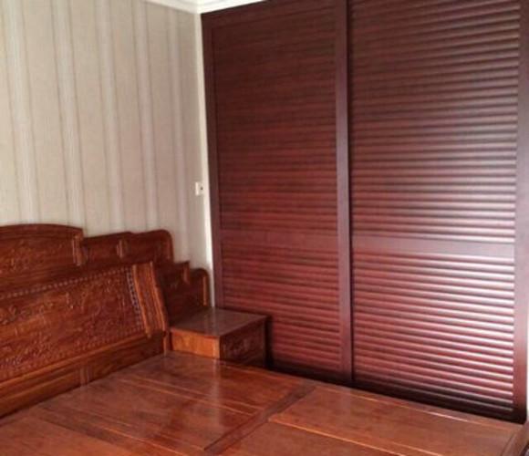 枣红海浪板—衣柜移门