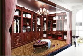 顶固原木衣柜