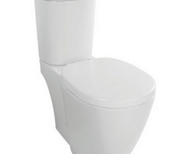 概念D形分体座厕