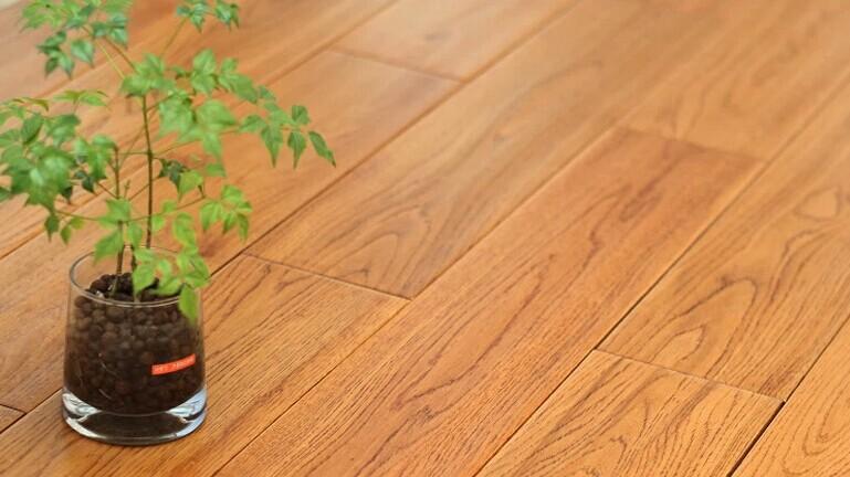 雅典古城-实木仿古-好美家地板-南京锦华装饰设计公司