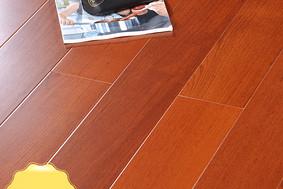 李洋地板 实木多层 柚木