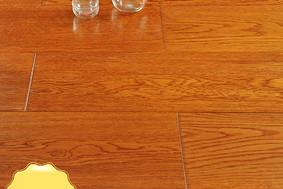 李洋地板 实木多层 栎木 黄金海岸EO