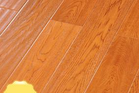 李洋地板 实木多层 栎木 黄金麦田 大板