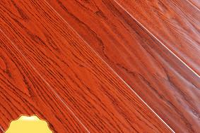 李洋地板 实木多层 红橡