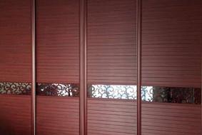 红胡桃+024腰线—衣柜