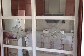 白玻加太阳花—厨房玻璃