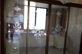 经典艺术—厨房阳台门