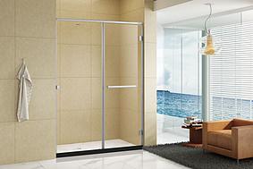 一字型内开门淋浴房