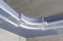 石膏板转角做L型整裁板