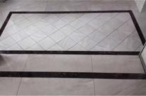 菱形地砖铺贴