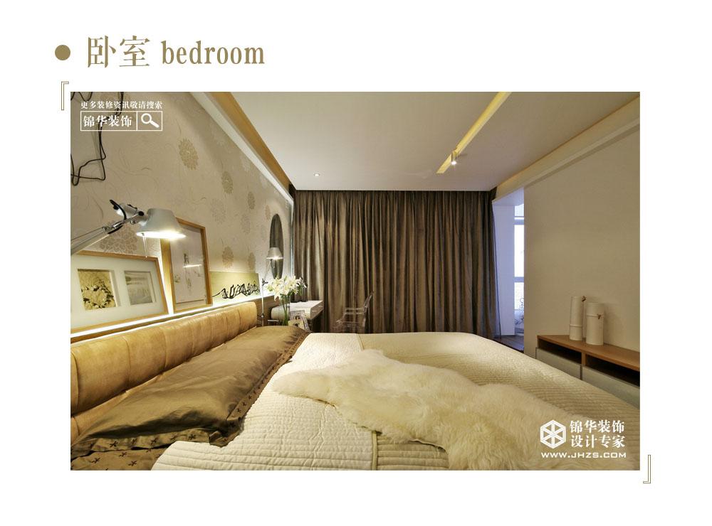 金色的吻装修-三室一厅-现代简约